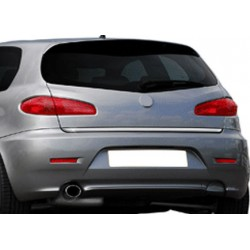 Rear bumper sill cover for Alfa Romeo 147 2001-2010