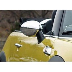 Covers mirrors stainless chrome for MINI|CONVERTIBLE 2009-[...]