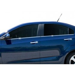 Chevrolet AVEO chrome door handle covers