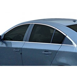 Window trim cover chrom alu Chevrolet CRUZE 2011-[...]