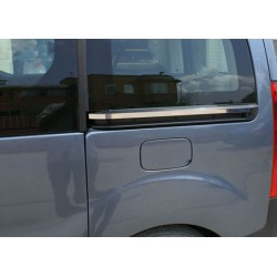Moulding chrome sliding door notch Citroen BERLINGO II 2008-2012