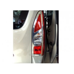 Contour chrome for rear lights Citroen BERLINGO II Facelift 2012-[...]