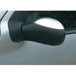 Covers mirrors stainless chrome for Citroen C2 2003 - 2009