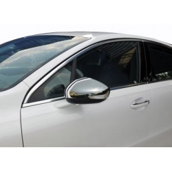 Covers mirrors stainless chrome for Citroen DS5 2012-[...]