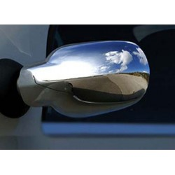 Covers mirrors stainless chrome for Dacia LOGAN 2005 - 2007