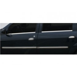Window trim cover chrom alu for Dacia LOGAN Facelift 2008-[...]