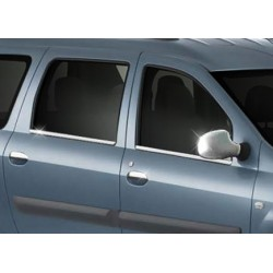Window trim cover chrom alu for Dacia LOGAN MCV 2006-2012
