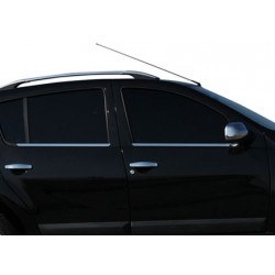Window trim cover chrom alu for Dacia SANDERO I 2008-2012