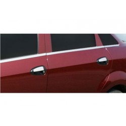 Fiat LINEA chrome door handle covers