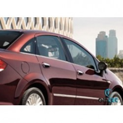Covers rods doors chrome for Fiat LINEA 2007-[...]