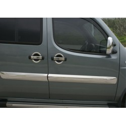 Covers doors chrome for Fiat DOBLO Rod I 2000-2006