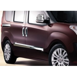 Fiat DOBLO II 4-door chrome door handle covers