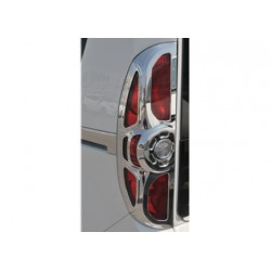 Contour chrome for taillights Fiat DOBLO II 2010-[...]