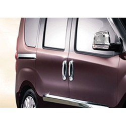 Moulding chrome sliding door notch Fiat DOBLO II 2010-[...]