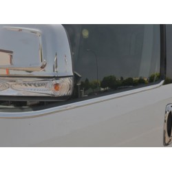 Window trim cover chrom alu for Fiat DOBLO II 2010-[...]