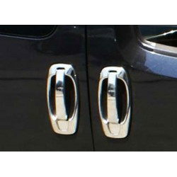 For Fiat FIORINO/QUBO chrome door handle covers
