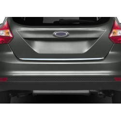 Rear bumper sill cover for Ford FOCUS III 2011-[...]