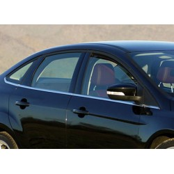 Window trim cover chrom alu for Ford FOCUS III 2011-[...]