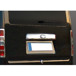 Handle trunk chrome for Ford CONNECT 2002-[...] - covers with location of the logo