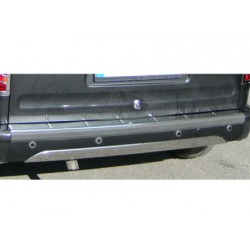 Rear bumper sill cover alu for Ford CONNECT 2002-2009