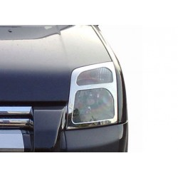 Contour chrome front headlights Ford CONNECT 2002-2009