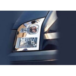 Contour chrome front headlights Ford TRANSIT 2000 - 2013