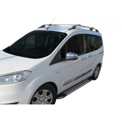 Covers mirrors stainless chrome for Ford TOURNEO COURIER 2014 -]