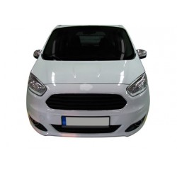 Added chrome bumper before Ford TOURNEO COURIER 2014 -]