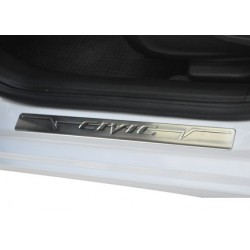 Door sill cover for Honda CIVIC 2012-[...]