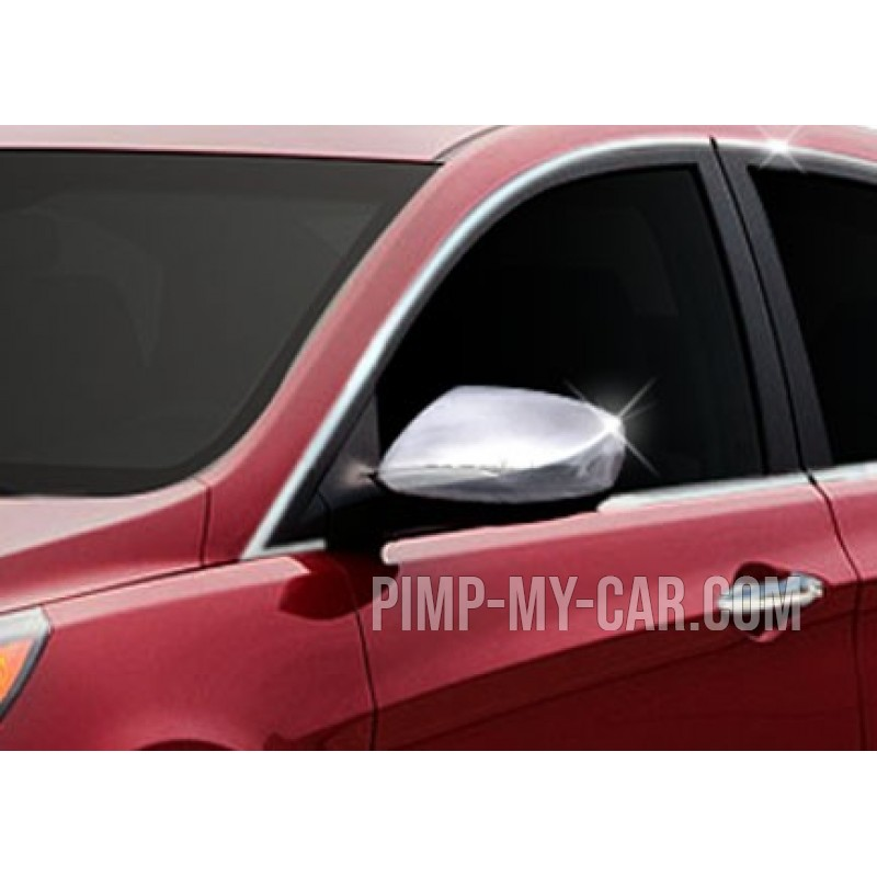 Covers mirrors stainless chrome for Hyundai ACCENT BLUE 2012-[...]