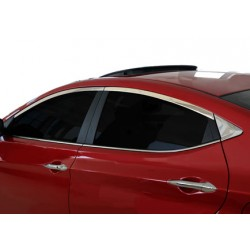 Outline of window chrome alu for Hyundai ELANTRA IV 2011-[...]