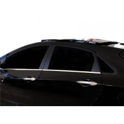 Window trim cover chrom alu for Hyundai i30 2012-[...]