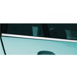 Window trim cover chrom alu for the Land Rover RANGE ROVER III (VOGUE) 2002-2012