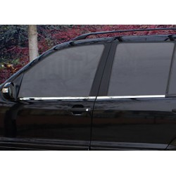Window trim cover chrom alu for Mercedes ML W163 1998-2005