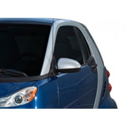 Covers mirrors stainless chrome for Mercedes SMART 2007-[...]