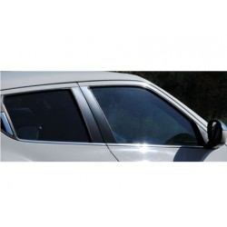 Window trim cover chrom alu for Nissan JUKE 2011-2014
