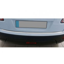 Rear bumper sill cover alu for Nissan QASHQAI Facelift 2010-[...]