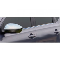 Window trim cover chrom alu for Nissan QASHQAI Facelift 2010-[...]