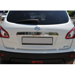 Rear bumper sill cover alu for Nissan QASHQAI + 2 2009-[...]
