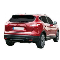 Rear bumper sill cover for Nissan QASHQAI 2014-[...]
