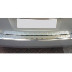 Rear bumper sill cover alu brushed for Opel ASTRA J 2010-[...]