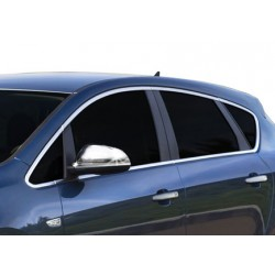 Outline of window chrome alu for Opel ASTRA J 2010-[...]
