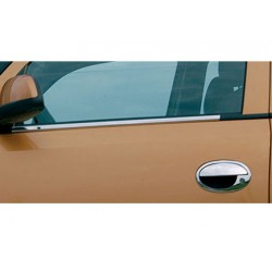 Window trim cover chrom alu for Opel CORSA C 2000-2006
