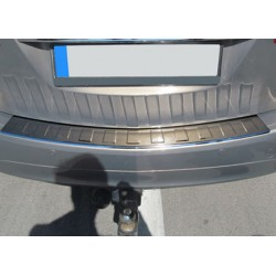 Rear bumper sill cover alu brushed for Opel MERIVA B 2010-[...]