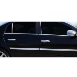 Window trim cover chrom alu for Opel VECTRA C 2002-2008