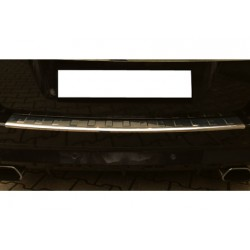 Rear bumper sill cover alu for Opel ZAFIRA B 2005-2011