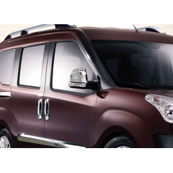 Covers mirrors stainless chrome for Opel COMBO D 2012-[...]
