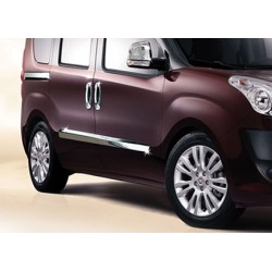 Covers rods doors chrome for Opel COMBO D 2012-[...]