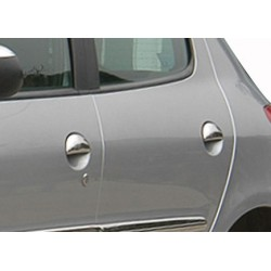 Peugeot 206 PLUS 5 door chrome door handle covers