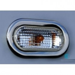 Contour chrome flashing Peugeot 206 more 2009 - 2012